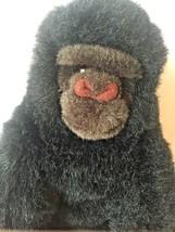 "1995 Ty Classic 10"" Gorilla Plush Baby George Black Stuffed Animal Monkey Ape - $24.70"