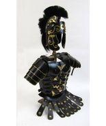 NauticalMart Roman Black Muscle Armor Cuirass Set W/Shoulders And Helmet... - $329.00