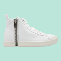 DIESEL S-Nentish Mens High-Top Fashion Sneaker White Size 8 - $168.29