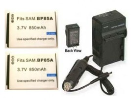 2 Battery + Charger for Samsung BP85A EABP85A EA-BP85A - $32.36