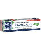 Kiss My Face Enamel Xtra Cool Mint Gel Toothpaste Fluoride 4.5 oz.  Discon - $14.52