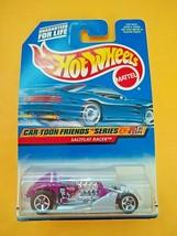 Mattel, Hot Wheels Saltflat Racer CAR-TOON Friends Series #1 Of 4,Collector #985 - $4.99