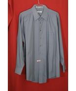 Geoffrey Beene Wrinkle Free Mens Button Up Dress Shirt Big 18 1/2 34-35 ... - $7.92