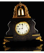 Big Antique 1913 Gilbert Mantle Clock - Runs great - unusual vintage vic... - $495.00