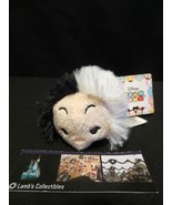 Disney Store Authentic USA 101 Dalmatians Cruella Tsum Tsum mini plush 3... - $11.11