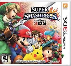 SUPER SMASH BROS. 3DS NINTENDO 2014 PLAYS ON 2DS VIDEO GAME BRAND NEW SE... - €30,95 EUR