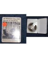 Sir Winston Churchill speaks to students WWII Wollensak reel to reel tap... - $17.99