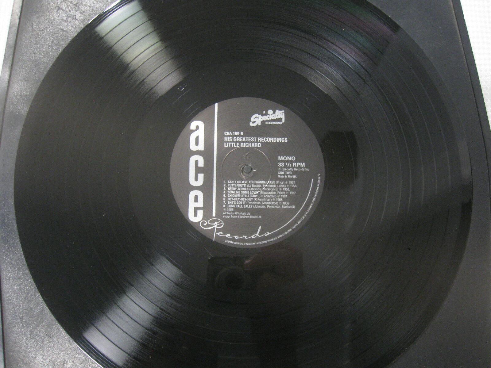 Little Richard His Greatest Recordings Ace CHA 109 Mono LP Record Album UK Press image 8