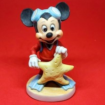 "Vintage Mickey Mouse Walt Disney Productions Starfish Scuba 4"" Figurine - $13.76"