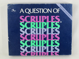 A Question of Scruples 2nd Second Edition 1986 Board Game 100% Complete EUC - $14.85