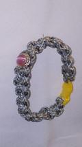 Camo Paracord with Pink Jewel Bracelet - $5.00
