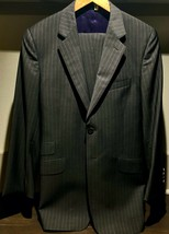Paul Smith Mens 38R Gray Viscose Two Button Suit - $189.98