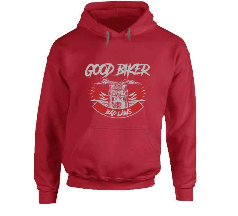 Good Biker Bad Laws Tshirt
