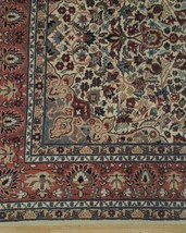Ivory Wool Carpet 5 x 7 Fine Quality Reproduction Traditional Handmade Rug image 2