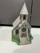 "Partylite ""The Church"" Olde World Village Tealight House Candle Holder  - $19.75"