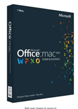 Microsoft Office 2011 Home and Business for Mac - 32/64 Bit - $14.52