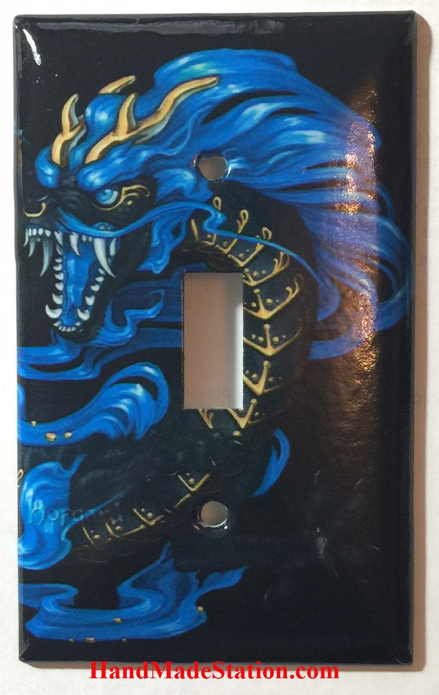 Chinese blue dragon single toggle
