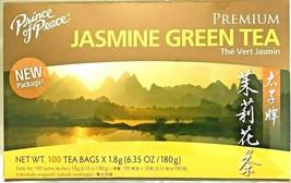 Premium Jasmine Green Tea 6.35 Oz/180g - 100 Tea Bags by Prince of Peace - $10.40