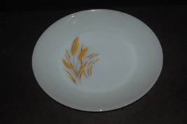 11 Anchor Hocking Fire King Milk Glass Wheat Dinner Plate 10 inch plates  - $49.45