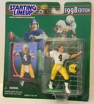 Brett Favre Green Bay Packers 1998 Starting Lineup NFL action figure NIB Kenner - $13.36