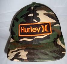Hurley Camouflage Snapback Mesh Baseball Cap Trucker Hat One Size - $29.95