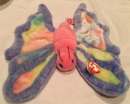 "TY LARGE Beanie BUDDY Plush 12"" Butterfly FLITTER w/Tag 2000 Retired Mul... - $11.87"