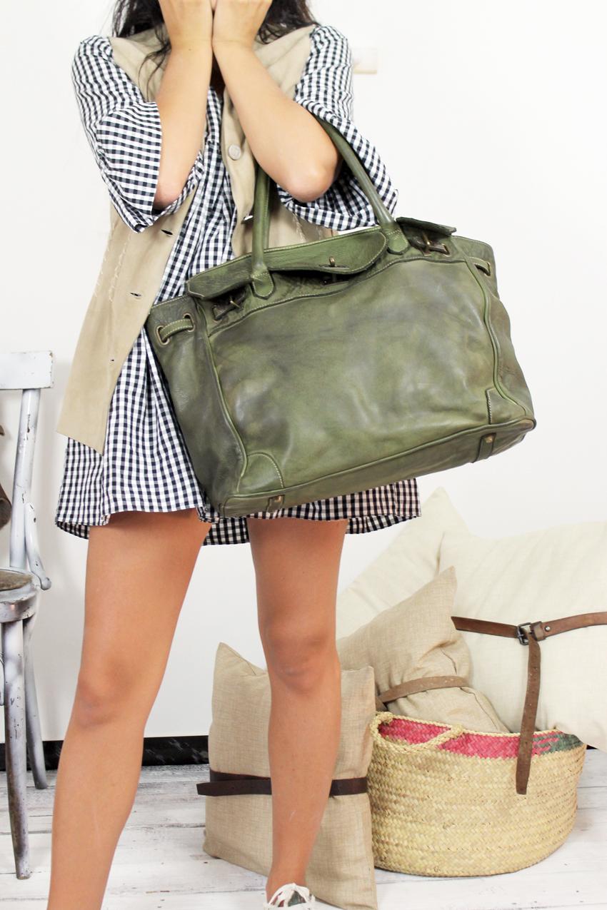 CLOSER BAG handmade leather bag image 3
