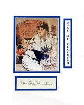 Duke Snider Original Autograph in Person Autograph - $29.69