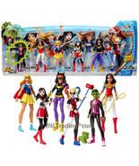 Year 2016 Super Hero Girls Action Collection w/ Beast Boy, Wonder Woman ... - $84.99
