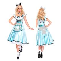 Alice in the Wonderland Deluxes Princess Maid Costume Cosplay Size M image 2