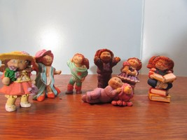 Lot Of 7 Vintage 1984 Cabbage Patch Kids Plastic Figurines, Girls  - $29.70