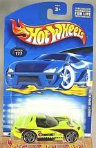 2001 Hot Wheels Collector #177 DODGE VIPER RT/10 Neon-Lime w/Chrome Pr5 ... - $7.50