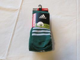 Adidas Climalite Unisexe Rivalité Baseball 2 Paire Chaussettes S 13C-4Y Otc - $15.48
