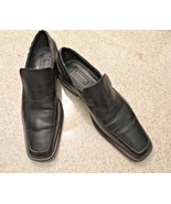 Borgesi Beverly Hills Collection Black Leather Hand Made Slip On Shoes (... - $13.10