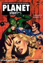 Pulp SciFi Prints: Conjurer Of Venus - Planet Stories - 1952 - $12.95+