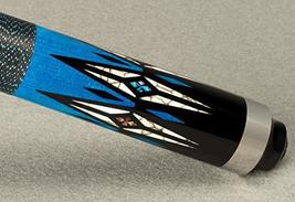 Star McDermott S85 Maple, Blue Stain, Colored Overlay Pool/Billiard Cue ... - $240.00