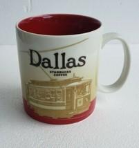 NEW 2009 DALLAS Texas Starbucks Global Icon Collector Series Coffee Mug ... - $56.09