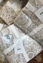 Pottery Barn Anya Duvet Cover Set Blush King 2 King Shams Paisley Jordan... - $159.20