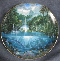 Sanctuary Of The Dolphin Enchanted Seascapes Collector Plate John Enright - $19.95