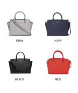 MICHAEL KORS Selma Satchel Large Shoulder Bag for Woman with Free Gift - $220.00