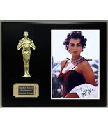 Sophia Loren Reproduction Autographed 8 x 10 Photo LTD Edition Oscar Dis... - $66.45
