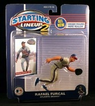 Rafael Furcal Atlanta Braves MLB Starting Lineup 2 action figure NIB Has... - $13.36