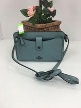 Coach Messenger Bag Pop up Pouch Crossbody Blue 64798 B12 - $108.89
