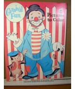 Coloring Book Carnival Fun Pictures to Color Saalfield - $7.19
