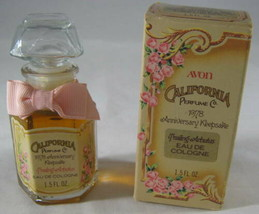 Avon California Perfume Co 1978 Anniversary Keepsake Trailing Arbutus Co... - $8.41