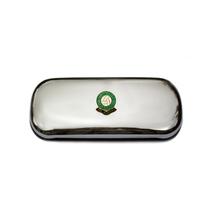 Plymouth Argyle football club polished chrome glasses case - $29.99