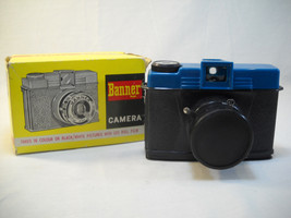 Vintage Plastic Banner Camera No. W20A With Box And Instructions - $34.95