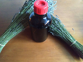 **Undiluted lavandin essential oil in bulk 1000 ml amber glass bottle** - $113.85