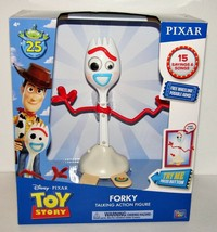 Toy Story Forky Talking Action Figure Free Wheeling NEW - $44.98