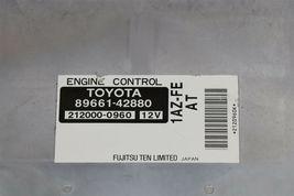 Toyota RAV4 Rav-4 Rav 4 ECM ECU Engine Control Module 89661-42880 212000-0960 image 3